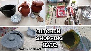 Kitchen Shopping Haul| Kalchatti, mudpot,kitchen needs
