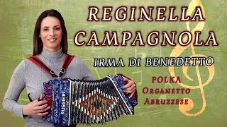 Reginella Campagnola (polka) Organetto Abruzzese Accordion, Irma Di Benedetto #iorestoacasa