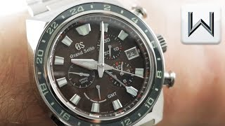 2019 Grand Seiko SBGC231 Spring Drive GMT Sport 9S 20th Anniversary Watch Review