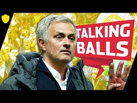 MOURINHO COMPLETES TREBLE WINNING SEASON?!   TALKING BALLS