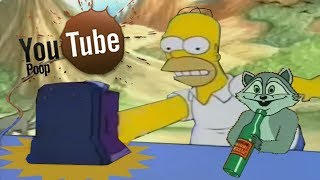 YTP - Homer Assaults a Toaster