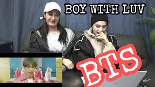 REACTION / BTS (방탄소년단) '작은 것들을 위한 시 (Boy With Luv) feat. Halsey' Official MV