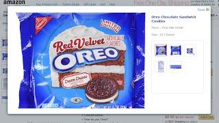 Red Velvet Oreos Amazon Buy Red Velvet Oreos 2015