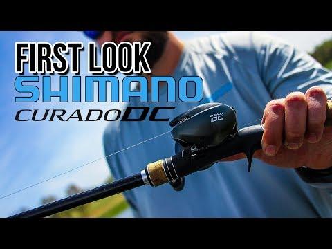 First Look!! New Shimano Curado DC Bait Casting Reel!!