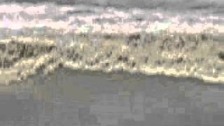 Penang beach - Tsunami waves