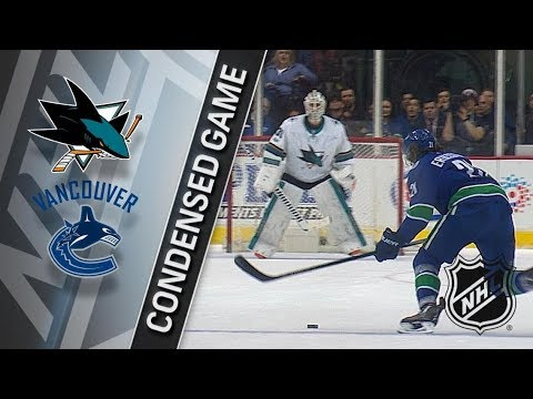 San Jose Sharks vs Vancouver Canucks – Dec. 15, 2017 | Game Highlights | NHL 2017/18. Обзор матча