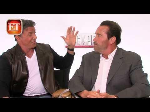 Sylvester Stallone & Arnold Schwarzenegger - Escape Plan