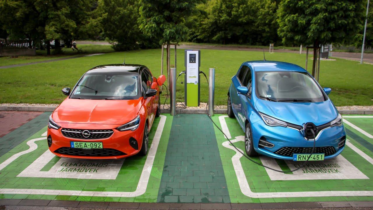 Összehasonlító teszt: Opel Corsa-e vs. Renault Zoe - Melyik a jobb bolt az állami támogatással?