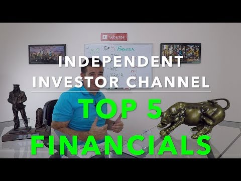 Top 5 Financial Stocks | Financial Sector