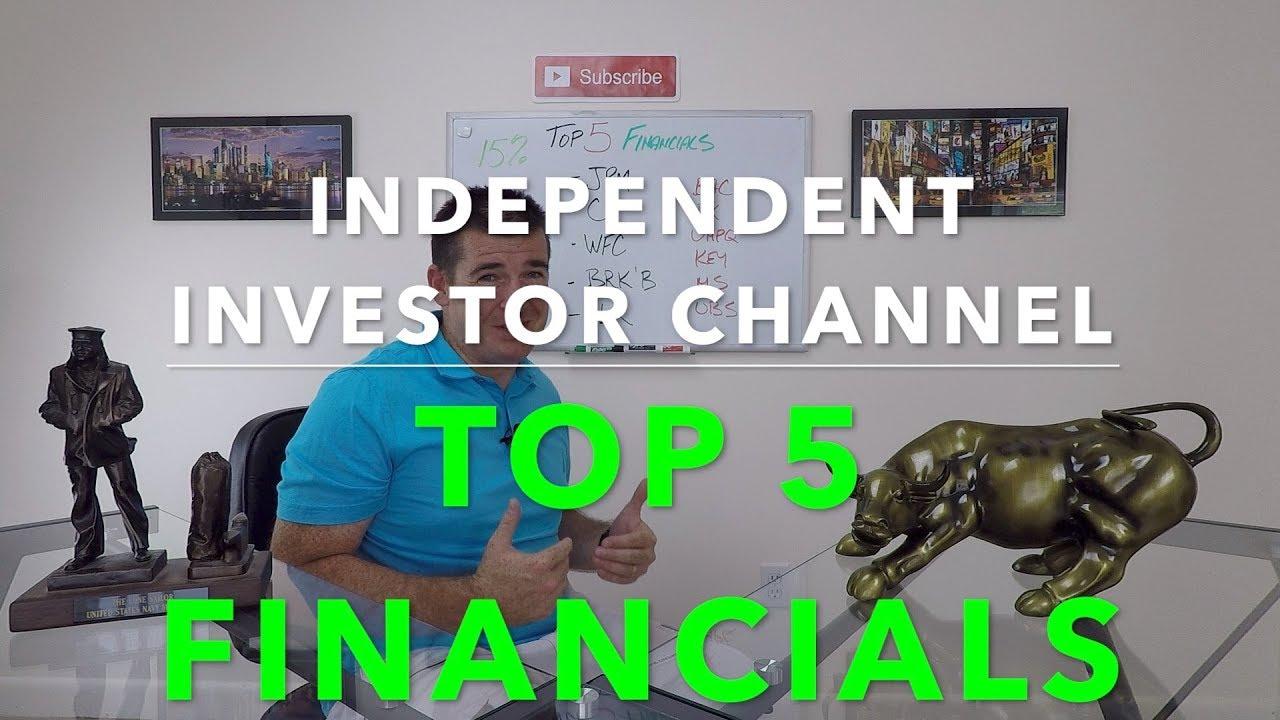 Top 5 Financial Stocks | Financial Sector - YouTube