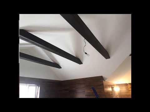 Натяжные Матовые потолки. Мансарда