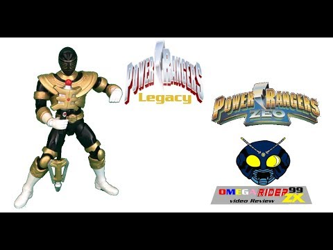 Power Rangers Legacy 6 5  Inch Figure Zeo Gold Ranger Review