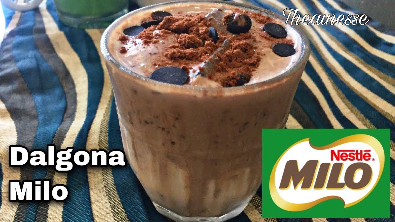 milo dalgona resepi  ovalette dalgona coffee trend Resepi Kek Kopi Enak dan Mudah