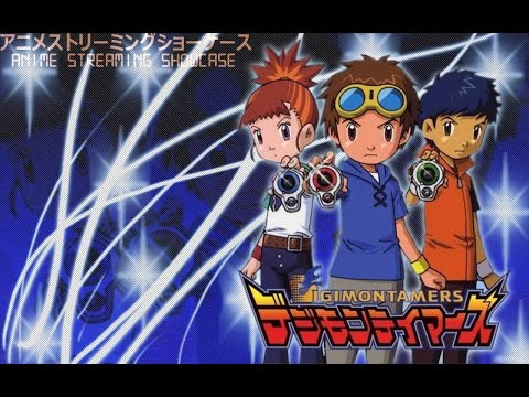 Anime Streaming Showcase: Digimon Tamers