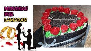 Download Video DEKOR Blackforest cake Special Lamaran/Engagment MP3 3GP MP4