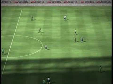 Frank Baumann Werder Bremen very long free kick fifa 07