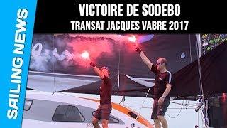 Victoire de Sodebo - Transat Jacques Vabre 2017