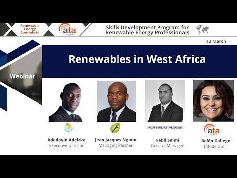 Renewables in West Africa