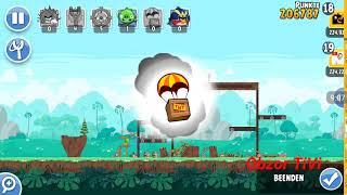 Obzor TiVi: Прохождение уровней Angry Birds Friends от 20 февраля 2019.