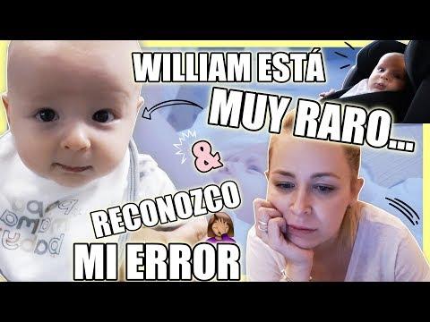 WILLIAM está muy RARO 😞 & RECONOZCO mi ERROR + COMPRAS    Vlog diario   Familia Carameluchi