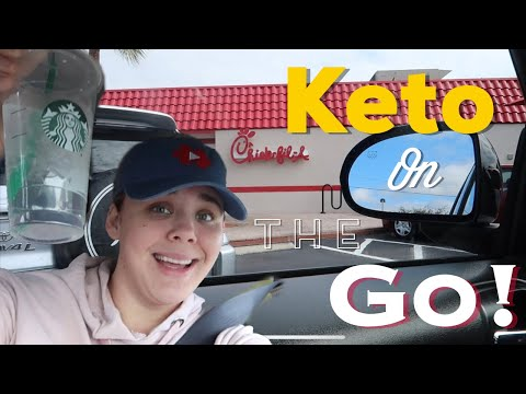 "FULL DAY OF ""FAST FOOD"" KETO EATING 