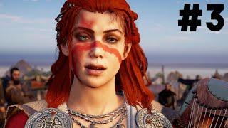 ASSASSIN'S CREED VALHALLA WRATH OF THE DRUIDS Gameplay Walkthrough Part 3 - LOVE INTEREST ???