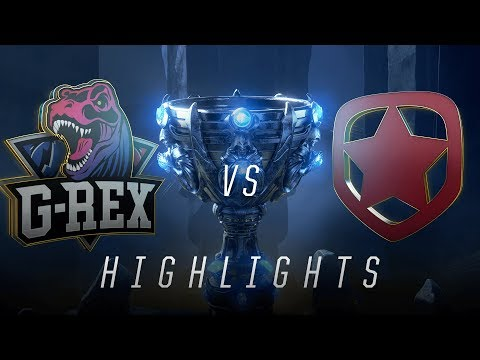 GRX vs. GMB - Worlds Play In Match Highlights (2018)