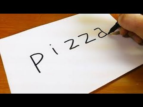 Pizza Nasıl Çizilir ? Pizza Çizimi (How to draw a pizza) Renkli Dünyam