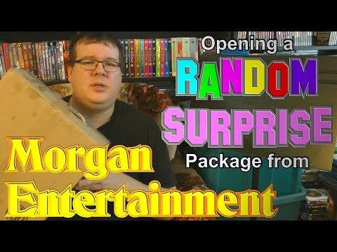 Opening a Random Surprise Package from Morgan Entertainment!