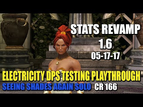 DCUO - Stats Revamp 1.6: Electricity Testing VoD (05-17-17)