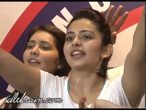 Rakul Preet Singh's F45 Training Fitness Gym launch - idlebrain.com Mp3