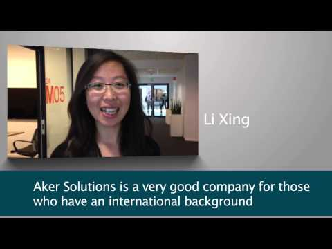I chose Aker Solutions...