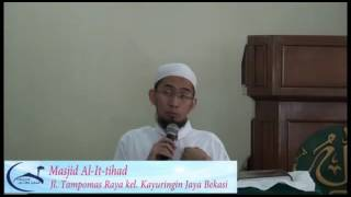 Niat Buka Puasa - Ustadz  Adi Hidayat Lc,MA 2017 Video