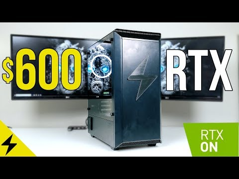 Best $600 Budget Gaming PC Build? RTX 2060 & i5 Tested! - Ray Tracing on a Budget PT. 3