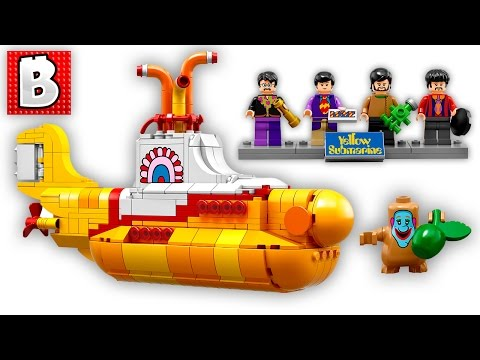 Lego Yellow Submarine Official Pics Revealed!! + Batman Movie Collectible minifig rumors | Lego News