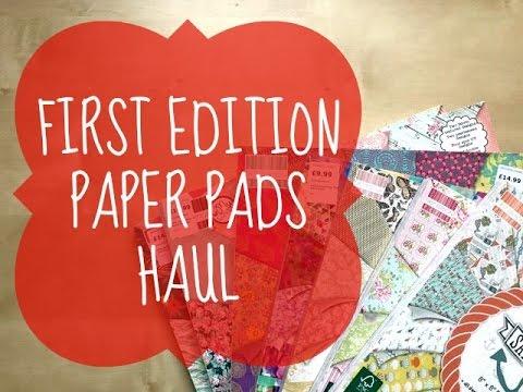 Trimcraft First Edition Paper Pads | HAUL + FLIPTHROUGH