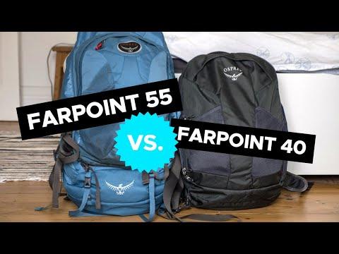 Osprey Farpoint 40 vs 55 SHOWDOWN: Which One Should You Get?