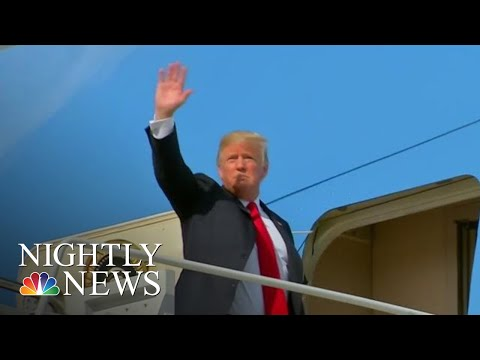 President Donald Trump Slams AG Jeff Sessions Over GOP Indictments | NBC Nightly News