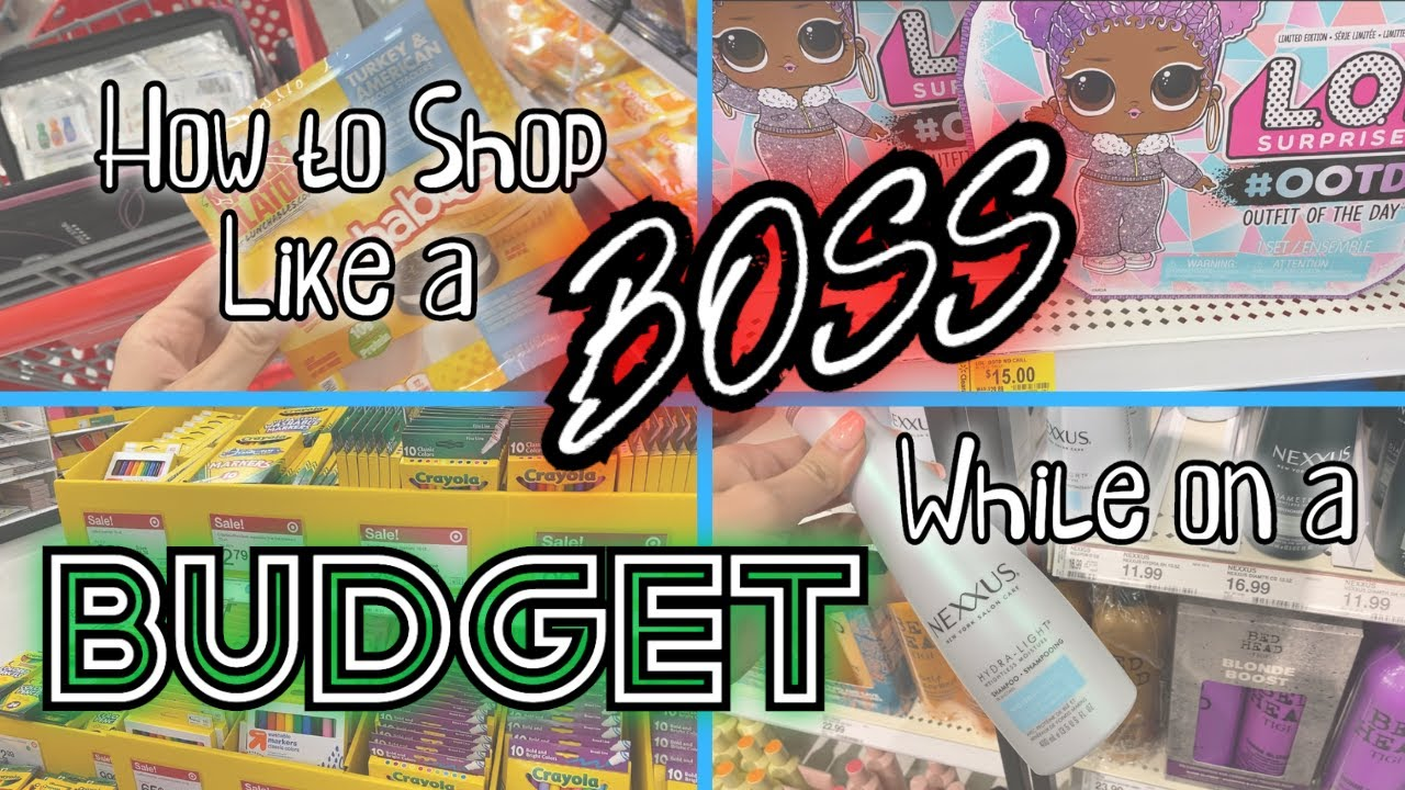 How to Shop Like a BOSS While on a BUDGET | Coupons, Clearance, and MORE!