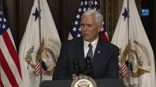 Vice President Pence Swears In U.S. Ambassador to Japan William F. Hagerty IV thumbnail