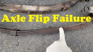 Trailer Axle Flipping....What's the BIG Deal?