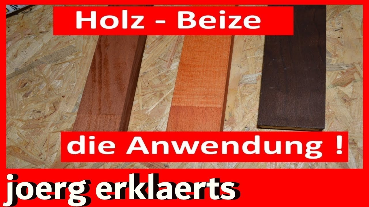 richtig holz beizen und f rben mit anleitung tipps tricks tutorial. Black Bedroom Furniture Sets. Home Design Ideas