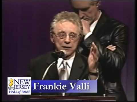 Joe Grano and Bob G present Frankie Valli into the 2010 NJ Hall of Fame.