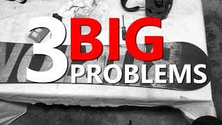 3 Beginner Snowboard Gear Problems