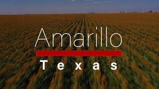 Aerial Amarillo Texas