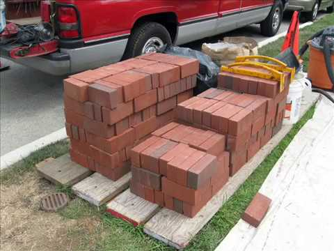 Front yard makeover retaining wall project YouTube