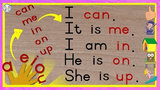 I Can - Reading program GRADE 1 LESSON 1 - Teachers resources