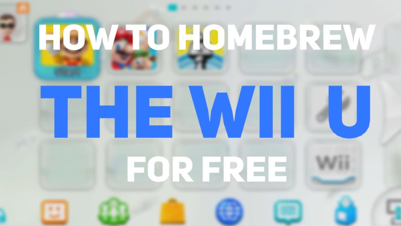 Download How To Homebrew The Wii U For FREE! - Latest Update