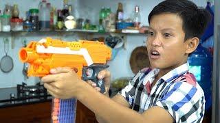 Đồ Chơi Bắn Súng Nerf Cuộc Chiến Pie Face Úp Bánh Kem: Nerf War Pie Face Battle Shot