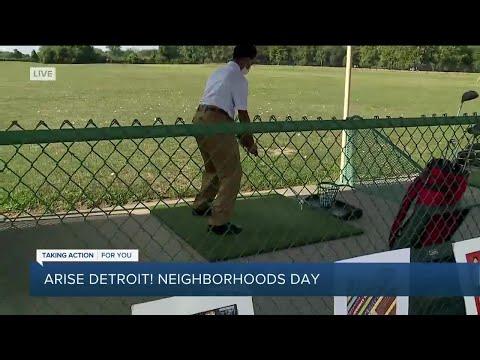 Arise Detroit! Kids golf contest